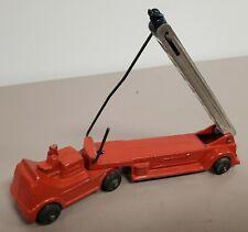 Vintage RARE Diecast Barclay Fire Engine Ladder Truck All Original [X55]