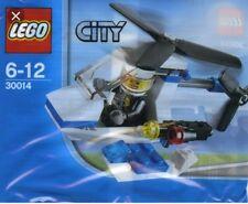LEGO 30014 CITY Police Helicopter+ minifig, brand new, poly bag, bag filler