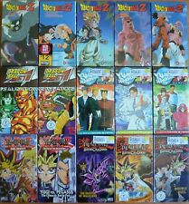 Wholesale Lot of 15 Anime VHS VIdeo Tape Nw Dubbed in English Yugioh Dragon Ball