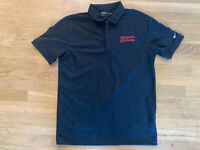 Nike Golf Dri-Fit Maker's Mark Mens Polo Golf Shirt Sz Large NWT Bourbon Whiskey