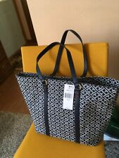 Lady's Handbag/ Tote Tommy Hilfiger  NEW w/Tags Navy & white