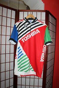 Look Toshiba Team Tour de France  Santini cycling jersey size 3XL- XXXL .ALY