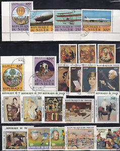 NIGER - VALUABLE COLLECTION - LOOK!