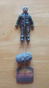Homemade Horror Friday the 13th Part VI Jason Lives Holiday Ornament