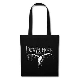 Death Note Anime Manga Inspired Tote Bag