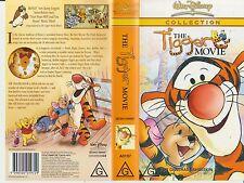 Vhs *The Tigger Movie* Walt Disney - Australian Beuna Vista Edition - Not a DVD!
