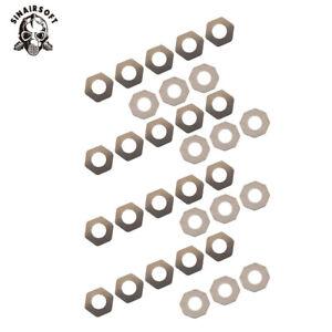 SHS 27 Piece Precision Metal Shim Set (0.1mm, 0.15mm, 0.2mm) Airsoft AEG Gearbox