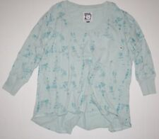 New Burton Womens Palmer 3/4 Sleeve Embellished Tie back Tee Top T-Shirt Blouse