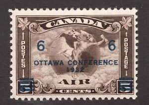 #C4 - Canada - 1932 - 6 Cent Air Mail - F/VF MNH - superfleas - cv$70