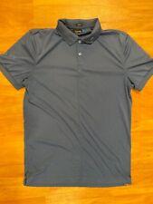 J. Lindeberg Navy Blue Tech Golf Polo Jersey Shirt Medium M
