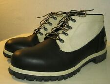 Timberland Men's Boots Lace Up Hiking Black/Beige Size 15 M US