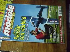 6µ?§ Revue Modele magazine n°669 Plan encarté Mini Max / YAK 54 Corsair F4U