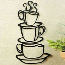 Removable DIY Art Kitchen Decors Coffee Cup Mug Vinyl Decals Mural Wall Sticker