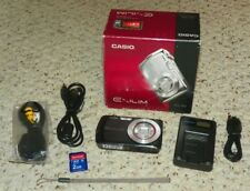 Casio Exilim EX-S5 10MP Digital Camera with 3x Optical Zoom - Black
