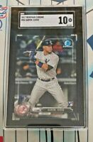 AARON JUDGE RC 2017 Bowman CHROME #56 ROOKIE NY Yankees SGC Grade 10 Mint