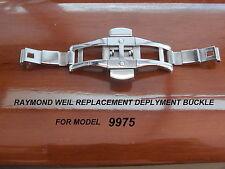 Sostituzione di fibbia per Raymond Weil Don giovani 9975 Deployant Fibbia