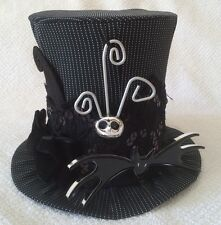 Disney Parks Nightmare Before Christmas Jack Skellington Mini Top Hat Decor Gift