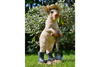 PIG Farmyard Animal Garden Ornament Sculpture Lawn Decor Statues hallway gift