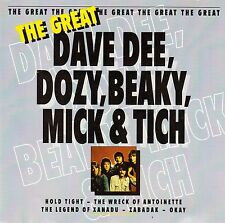 DAVE DEE, DOZY, BEAKY, MICK & TICH : THE GREAT / CD - TOP-ZUSTAND