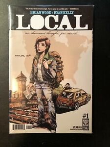 Brian Wood Lot- Pounded, Local, Fight for Tomorrow- mostly complete VF/NM