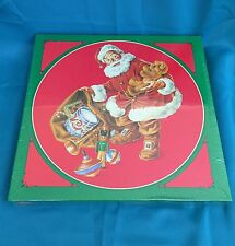 Christmas Magic 500 Piece Round Puzzle by Current Featuring Santa Claus With a