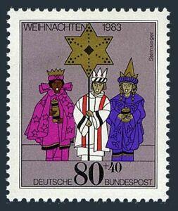 Germany B615 block/4-margin,MNH.Michel 1196. Christmas 1983.Carolers.