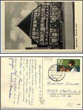 GARDELEGEN alte AK vor 1945 Auto Deutsches Haus 1973 Bedarfspost gelaufene AK