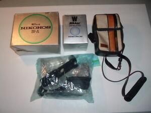 Nikonos IV-A 35mm underwater camera and Nikonos Lens (Parts/restore)