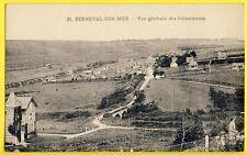 cpa 76 - BERNEVAL le GRAND (Seine Maritime) Vue Générale des LOTISSEMENTS Villas