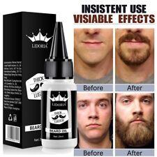 Beard Growth Oil Organic Men Facial Hair Growther Mustache Grow Beard Grooming