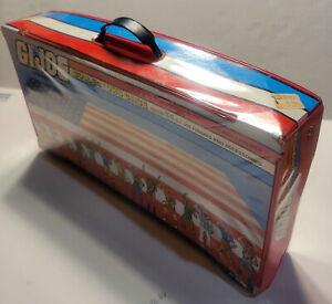 Original Vintage Tara Toy GI Joe ARAH 1984 Carrying Case w/ Trays w/ Handle