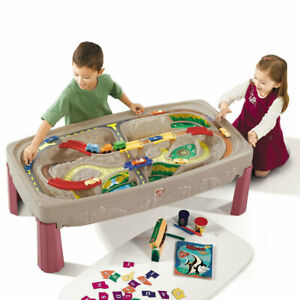 Deluxe Canyon Train Track Table by Step2   Kids Childrens Pretend Play