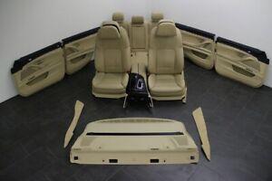 BMW 5er F10 Innenausstattung Leder Sport Sitze Aktivsitze klimatisiert SHZ beige