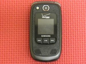 Samsung Convoy 2 SCH-U660 Black/Gray Verizon Wireless Flip Cell Phone *Tested*