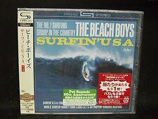 BEACH BOYS Surfin' U.S.A. + 1 JAPAN SHM CD California Music Jan & Dean
