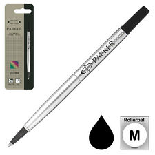 Parker Rollerball Refill, Black Medium 0.7 mm