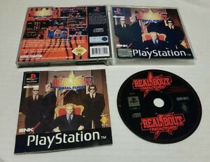 PS1 Real Bout Fatal Fury RARE GAME playstation 1