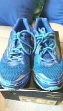 Women's Mizuno Wave Prophecy 5-w Running Shoes Size 9 Diva Blue/Electric Green