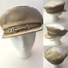 930bd6ec Rare Vtg Christian Dior By John Galliano Python Logo Hat