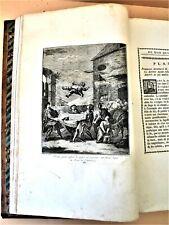 CERVANTES, DON QUICHOTTE, gravures de COYPEL, Bassompierre, in-folio 1776