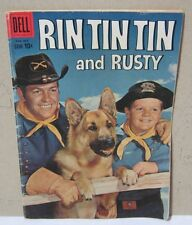Rin Tin Tin and Rusty Dell Comic 1959 No.31    T*