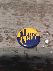 "Old Vintage 1940's Navy Midshipmen 1 1/4"" Football Pin"