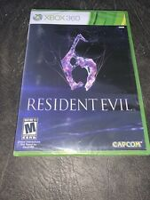 Resident Evil 6  (Xbox 360) Brand New Factory Sealed