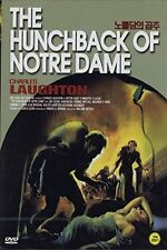 THE HUNCHBACK OF NOTRE DAME (1939) DVD -BRAND NEW -ALL REGION -CHARLES LAUGHTON