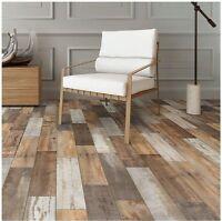 6x24 in. Porcelain Floor Shower Wall Kitchen Backsplash Wood Look Tile Flooring