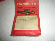 Nos Homelite chainsaw finder 2pcs 59009 oem homelite
