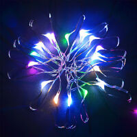 10/20/30//80 LED Battery Operated Fairy String Light Xmas Tree Party Wedding Dec