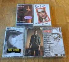 Dan Seals NEW/SEALED 5 Cassette Lot Songwriter On Arrival Walking The Wire Early