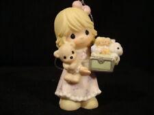 Precious Moments Ornaments-Girl/Heart/Lamb -25'th Anniversary-Le-With Box
