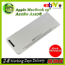 """Battery for Appl Mac Book 13"""" Inch A1278 A1280 2008 Version MB771*/A MB467X/A"""